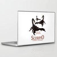 scorpio Laptop & iPad Skins featuring Scorpio by Adamzworld