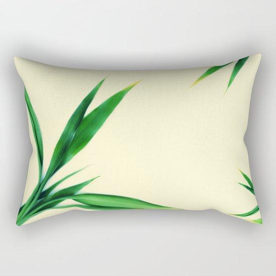 Bamboo leaves #1 #decor #art #society6 Rectangular Pillow
