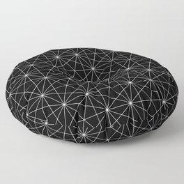 Intersected lines Floor Pillow