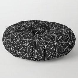 Intersected lines Floor Pillow