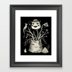 Savage Bouquet Framed Art Print