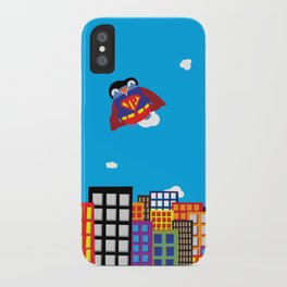 Pengwin that is Super iPhone Case