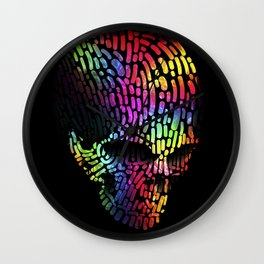Colors Never die Wall Clock