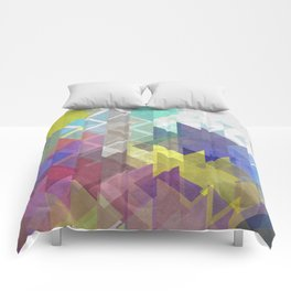 Lovely Triangle No. 2 Comforters