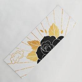 Black Rose Inktober :: Your Psyche Yoga Mat