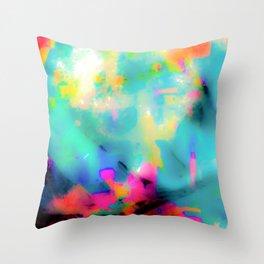 Broke the Kaleidoscope   Throw Pillow