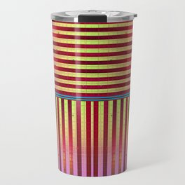 Golden Stripe Travel Mug