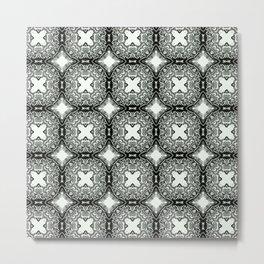 floral swirl pattern #126 Metal Print