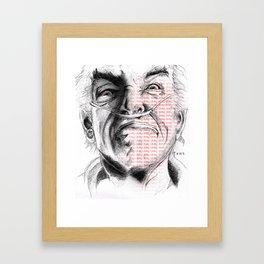 Hector Salamanca of Breaking Bad Framed Art Print