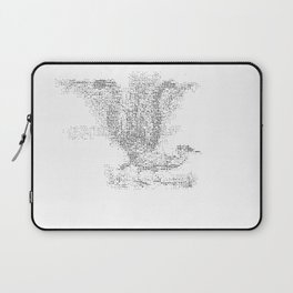 ASCII Lyrebird Laptop Sleeve