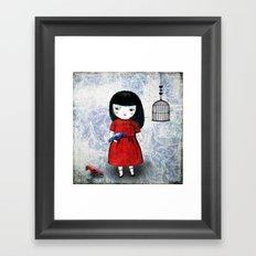 Blanca Bird Framed Art Print