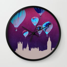 Sky of London Wall Clock