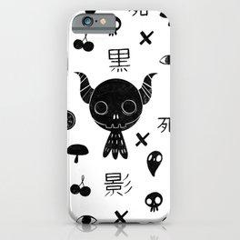 Paint it Kuro iPhone Case
