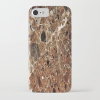 30 rock iPhone & iPod Cases featuring Marble Texture 30 by Robin Curtiss