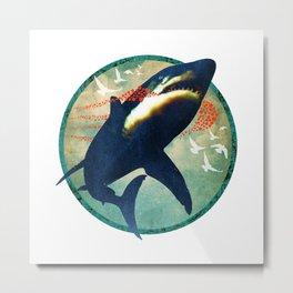 Shark Life Metal Print
