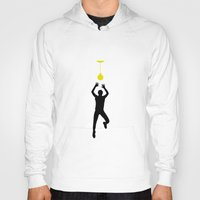 volleyball Hoodies featuring VOLLEYBALL by INNOCENT DESIGNER