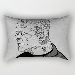 Karloff's Monster Rectangular Pillow