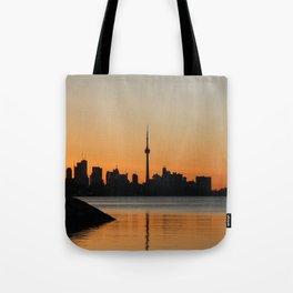 Toronto Sunrise Tote Bag