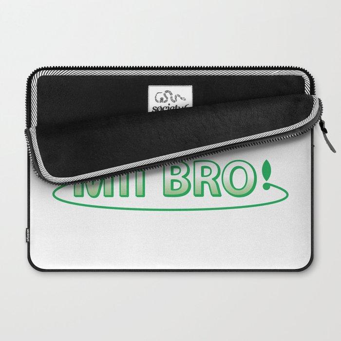 Streetpass Me Bro! Laptop Sleeve