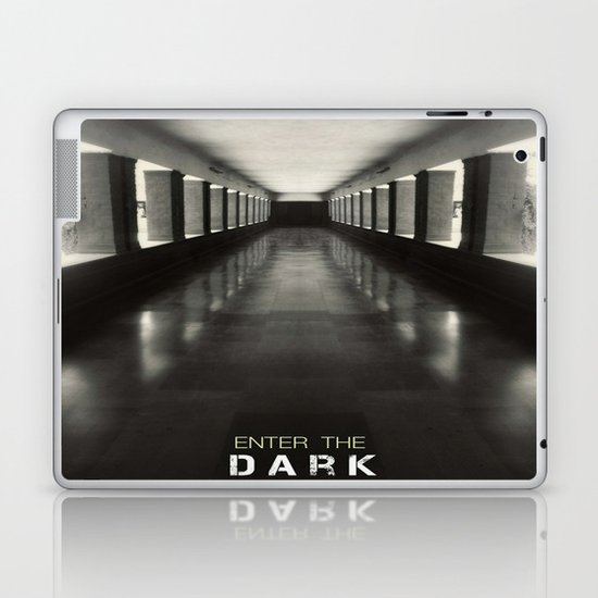 Enter the dark Laptop & iPad Skin