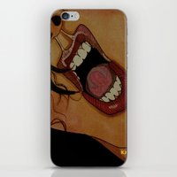 scream iPhone & iPod Skins featuring Scream by KNIfe