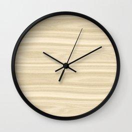 Maple Wood Texture Wall Clock
