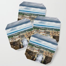 View from Edinburgh Castle, Scotland Coaster
