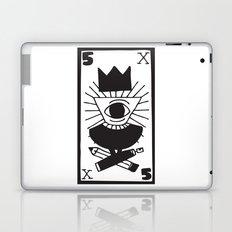 mighty eye card Laptop & iPad Skin