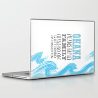 ohana Laptop & iPad Skins featuring ohana means family lilo and stich cerulium by studiomarshallarts