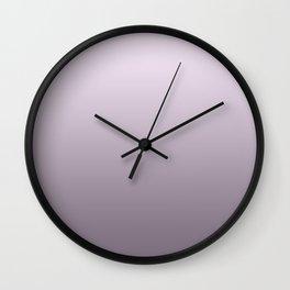 Lilac pearls Wall Clock