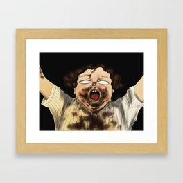 Bruce! Bruce! Bruce! Framed Art Print