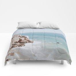 coast iii / malibu, california Comforters
