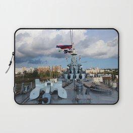 Main Deck Of The Battleship Laptop Sleeve