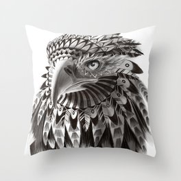 eagle shaman Throw Pillow