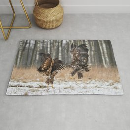White-Tailed Eagles Rug