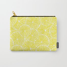 Lemon slices pattern design Carry-All Pouch