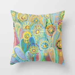 angel voices Throw Pillow