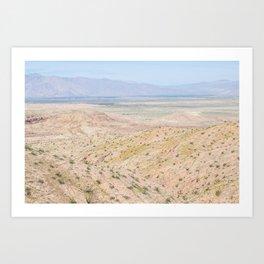 Desert Daze Art Print