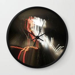 world in motion #2 Wall Clock