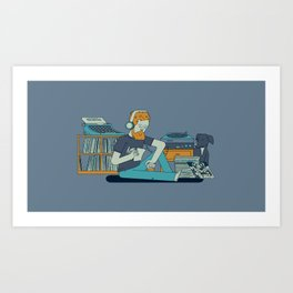 Willustration Art Print
