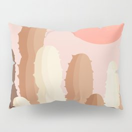 Abstraction_SUN_CACTUS_Minimalism_002 Pillow Sham