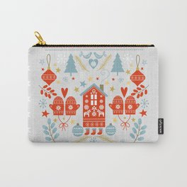 Laplander Winter Holiday Carry-All Pouch
