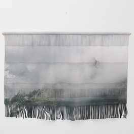 Mountain Range in the Clouds - Landscape Photography Wall Hanging
