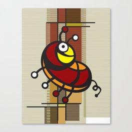 Deco Parrot Canvas Print