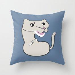 Neovison Mink Pearl Throw Pillow