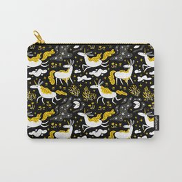 Midnight Unicorns Carry-All Pouch