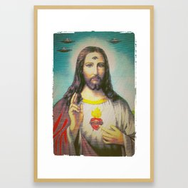 The Trinity Framed Art Print
