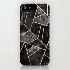 Black Stone 2 Slim Case iPhone SE
