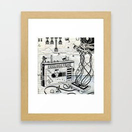 Analogatron Framed Art Print