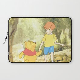 Christopher and Pooh Bear Laptop Sleeve